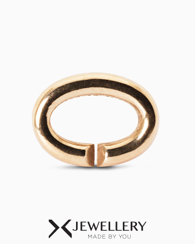 [X Jewellery] Basic, Single Bronze Link