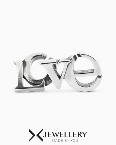 [X Jewellery] LOVE, Double Silver Link