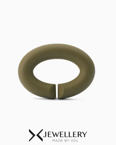 [X Jewellery] Khaki, Rubber X