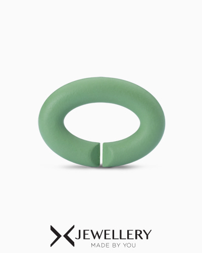 [X Jewellery] Pale Green, Rubber X