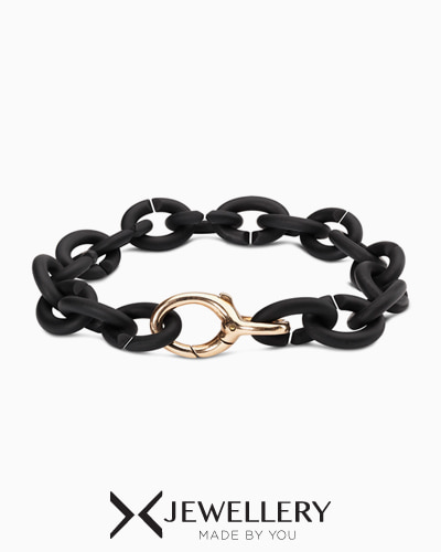 [X Jewellery] Black Bronze Bracelet