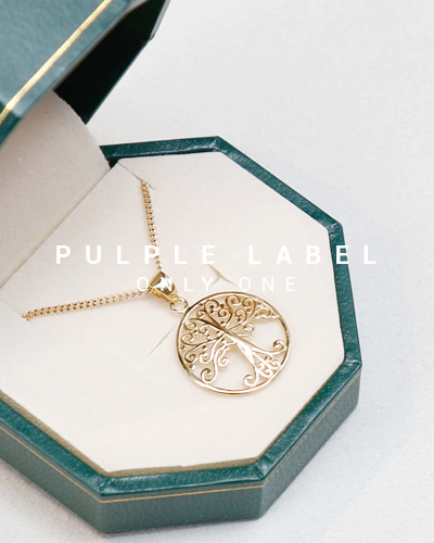 [Purple LABEL #13] The Tree 18K Necklace