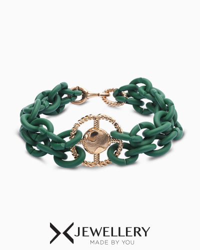 [X Jewellery] Green Earth Bracelet