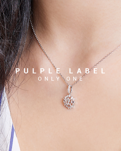 [Purple LABEL #15] The Space Diamond 18K Pendant