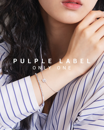 [Purple LABEL #15] Heartful Diamond Tennis 18K Bracelet