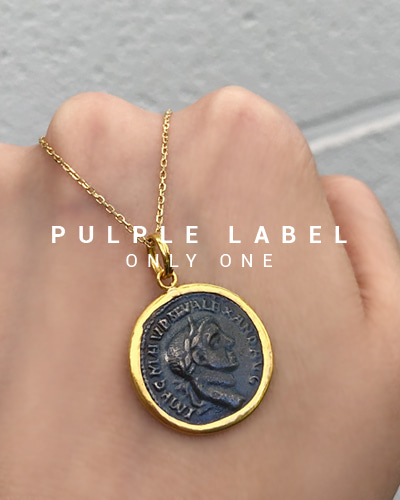 [Purple LABEL #18] 24K + Silver Seljuk Coin Pendant