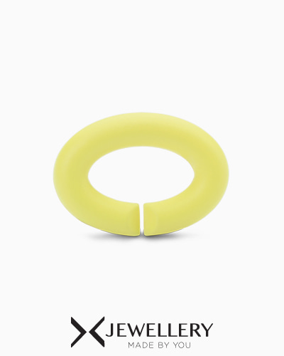 [X Jewellery] Light lemon, Rubber X