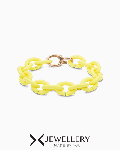 Light lemon Bronze Bracelet