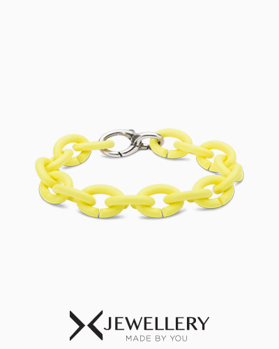[X Jewellery] Light lemon Silver Bracelet