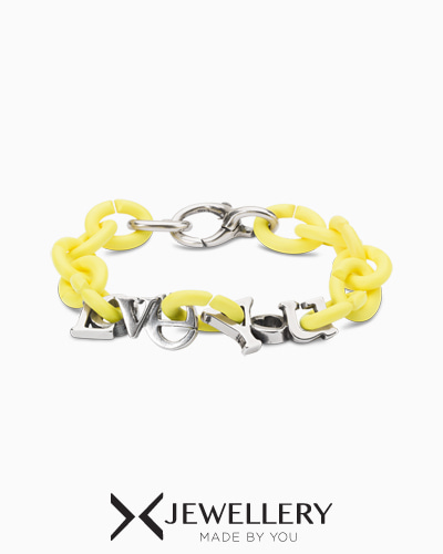 Light lemon Love You Bracelet