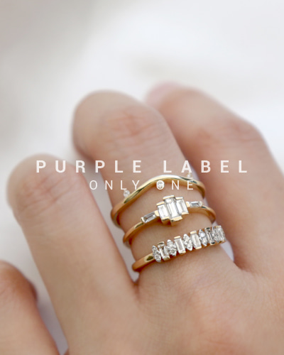 [Purple LABEL #19] 18K Mare Tepa Diamond Ring