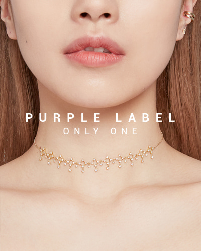 [Purple LABEL #19] 18K Paradise All Diamond Necklace