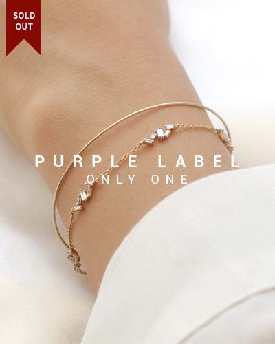 [Purple LABEL #19] 18K Lux Tepa Diamond Bracelet