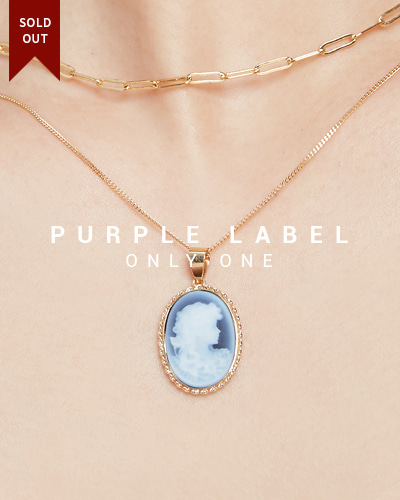 [Purple LABEL #19] 18K Lady Cameo Pendant (체인별도)