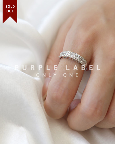 [Purple LABEL #19] 18K Palace Tepa Diamond Ring